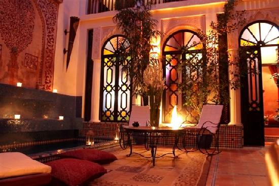 Riad 58 Blu: patio