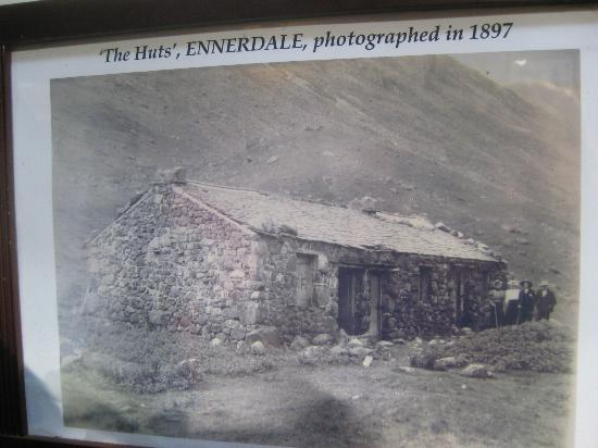 YHA Black Sail: Historic photograph of the building, Black Sail YHA