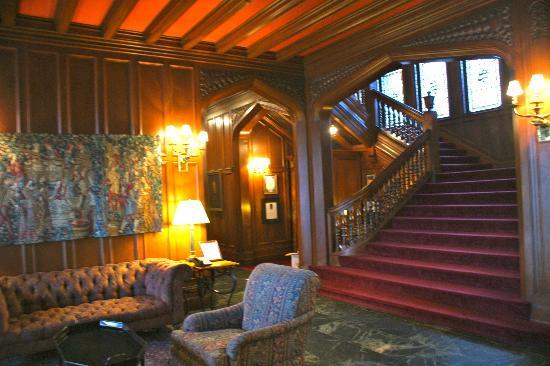 Cranwell Spa & Golf Resort: Mansion living area