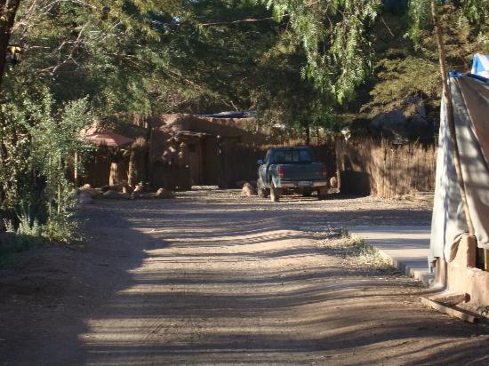 Hostal El Anexo: entrada do terreno