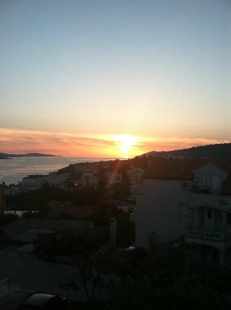 Apartments Ivanovic: Sunset from apartment