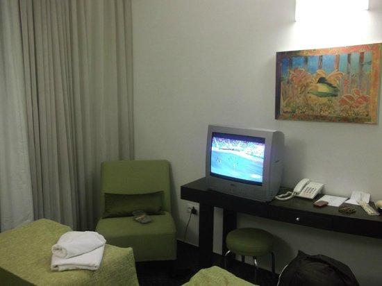 Novum Hotel Vitkov Prag: Bedroom