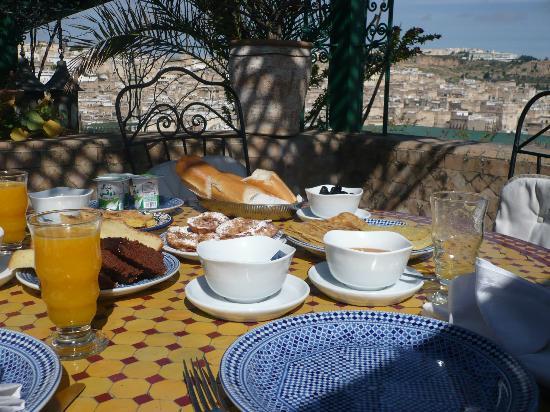Palais de fes Dar Tazi : colazione