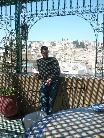 Palais de fes Dar Tazi : terrazza e vista