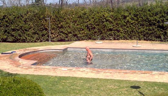Santa Maria a Poneta: Pool fun. Great weather for March!