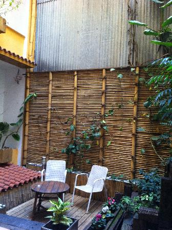 Hotel Margarit: Terrace