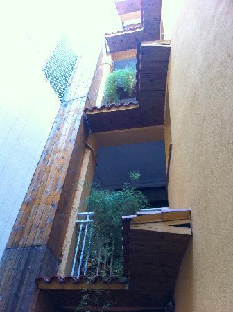 Hotel Margarit : Balconies