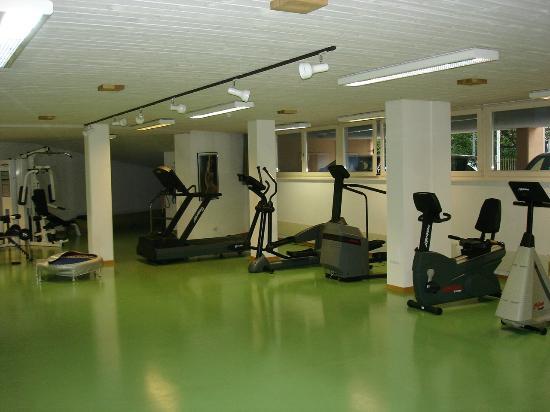 Wellness Hotel Graziella: Fitnessraum im Erdgeschoss