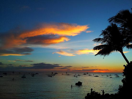 Boracay Terraces Resort: Nice sunset
