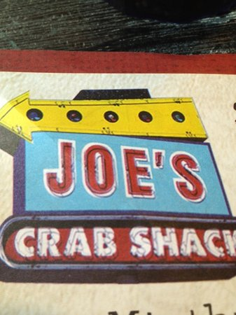 Joe's Crab Shack: great seafood