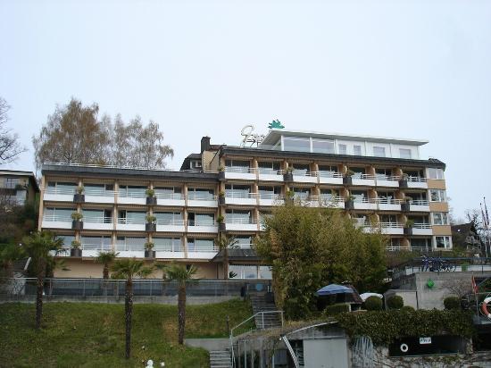 Wellness Hotel Graziella : Aussenansicht des Hotels