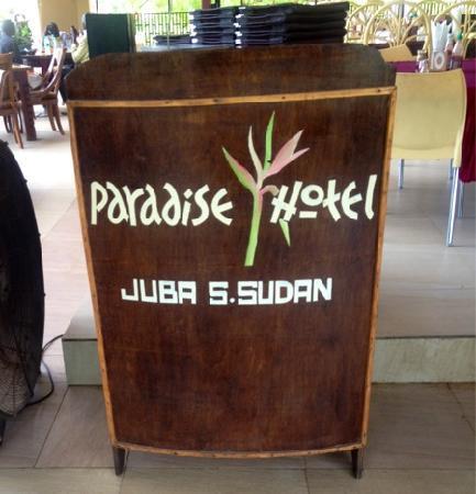 Paradise Hotel: Nice terrase restaurant!