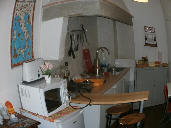 B&B Andy Florence: Кухня.
