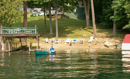 Tea Island Resort: Beach