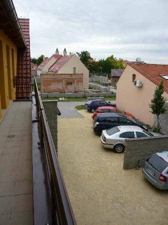 Penzion Addo : Parkplatz