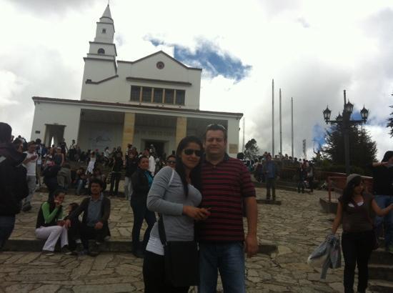 Cerro de Monserrate: santuario al fondo
