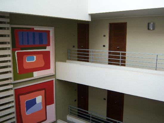 Norus Apartments Bellavista: Área interna.