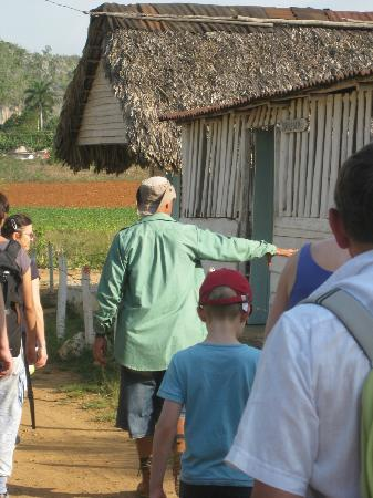 Villa Haydee Chiroles: Alexis on walking tour