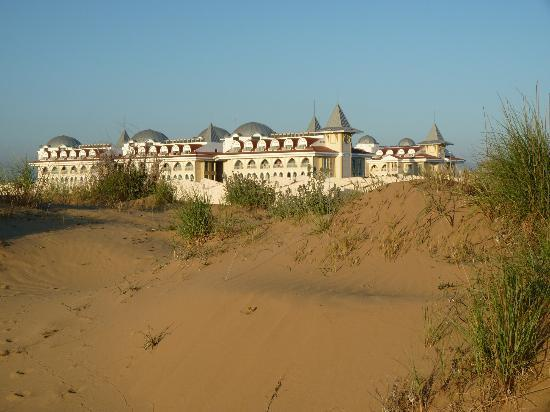 Side Star Resort from the dunes