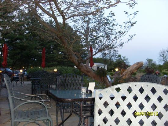 The Blackthorne Inn and Restaurant: Outdoor patio of Wolfe Tone Pub