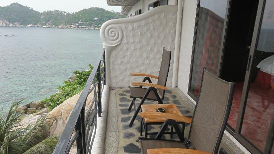 Jamahkiri Resort & Spa: Balcony