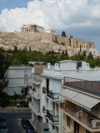 Acropolis View Hotel: View from the balcony