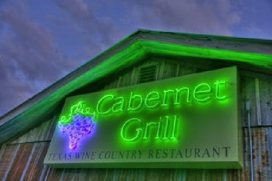 Cabernet Grill Texas Wine Country Restaurant: Welcome to the Cabernet Grill