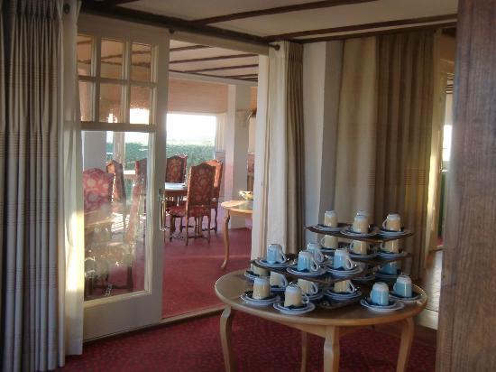 Hotel Le Lichen : Breakfast room
