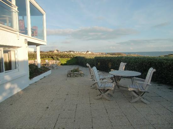 Hotel Le Lichen : Terrasse
