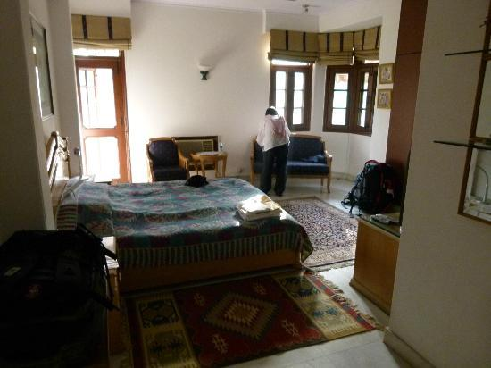 Sham Nath Villa: Our room