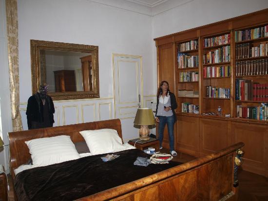 Chateau de la Villaine: habitación