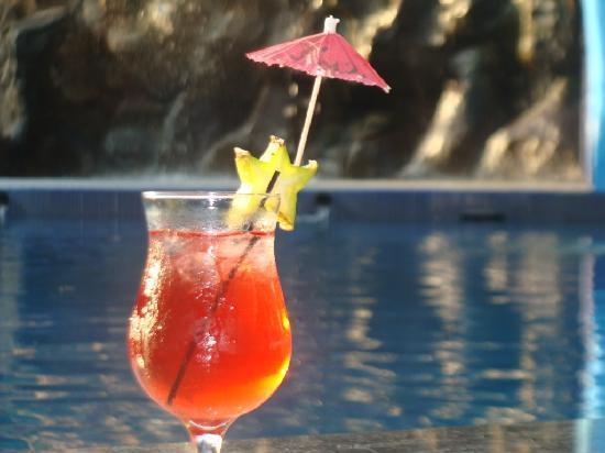 Congo Restaurant at Hotel San Bada: Fresh Cocktail