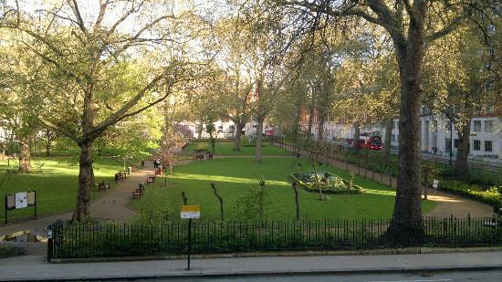 Tavistock Square from our room - Picture of Tavistock Hotel, London - TripAdvisor