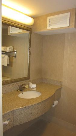 Courtyard Chapel Hill: Bathroom sink area