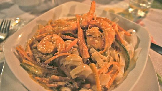 Restaurant Manuia: Thai Shrimp