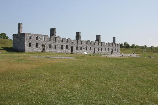 Crown Point, NY: British fort