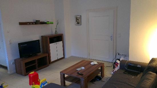 Alte Postvilla : Living room area