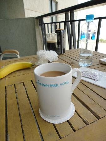 Arabian Park Hotel: cup of tea!