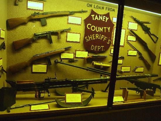 Ralph Foster Museum: Unique confiscated weapons