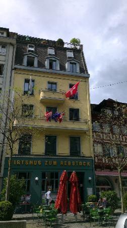 Hotel Rebstock: Outside view of hotel Zum Rebstock