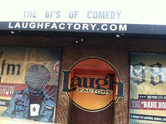 Laugh factory picture of tmz celebrity tour los angeles for Tmz tours in los angeles