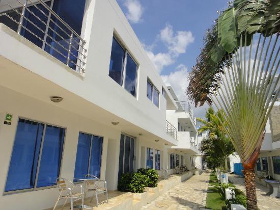Hotel PortoAlegre Covenas: Vista general