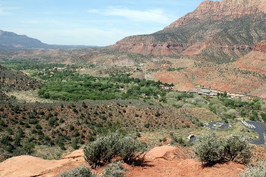 View Point of Watchman Trail
