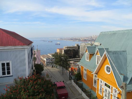 هوتل مانوار أتكنسون: View from the balcony, Room 7