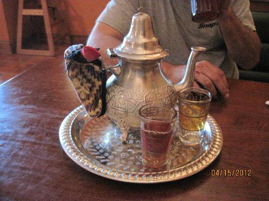 Kasbah Grill: Amazing Mint Tea