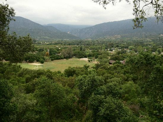 Ojai Retreat: From the main terrace