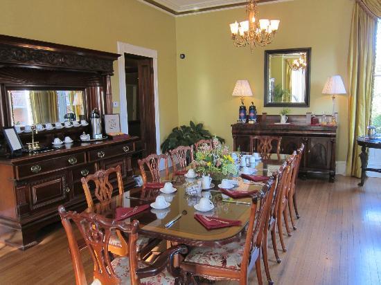 The Kehoe House - A Boutique Inn: Breakfast room