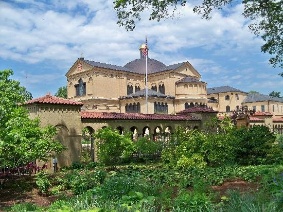 Franciscan Monastery: The Church from the outside