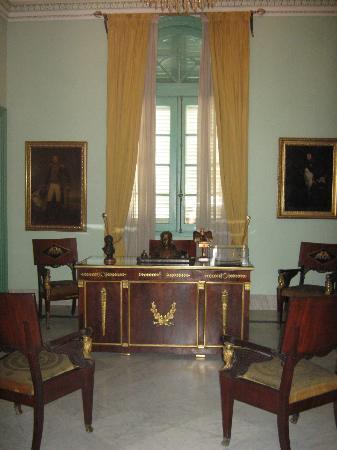 Museo Napoleonico: Despacho del dueño Museo Napoleónico