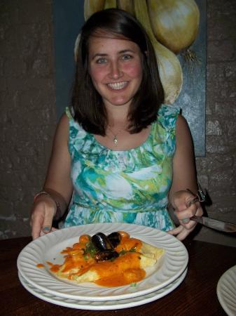Mike's Place: Seafood enchiladas